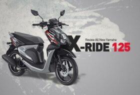 Desain Yamaha X Ride 125