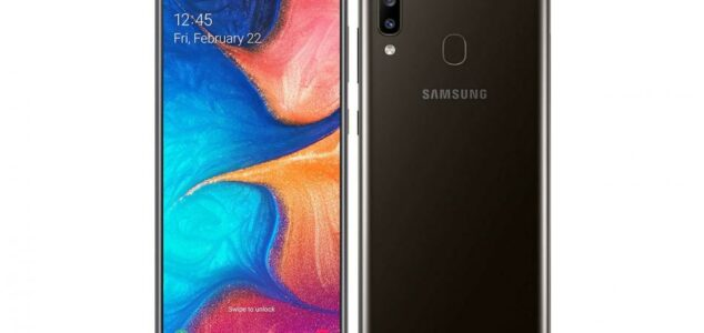 1. Samsung Galaxy A20